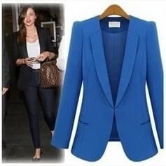 Wholesale Yellow Women S Blazer - woman business suit coat 8colors Women's Suits & Blazers free shipping