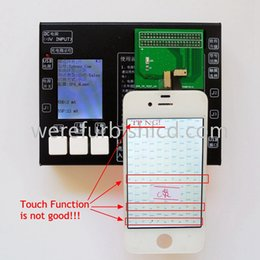 Wholesale Iphone 4s Screen Kit - New For Apple General LCD Assembly test stand kit Touch screen Testing box for iphone 4 4S 5 5S 5C 6 6plus TP tester board set