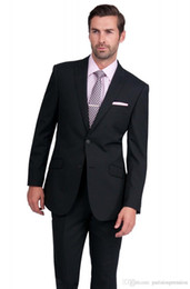 Wholesale Shiny Black Jackets For Men - Wholesale-2015 High Quality Black Shiny Suit Tuxes Costumes For Grooms Jacket+Pants+Vest+Tie BO094