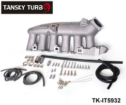Wholesale Intake Manifolds - Tansky - For Nissan RB25 ECR33 Cast Aluminum Turbo Intake Manifold JDM high Performance TK-IT5932 Have In Stock