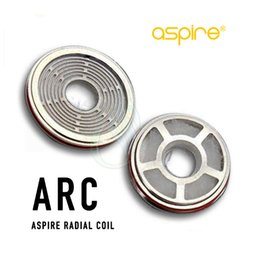 Wholesale arc kit - Authentic Aspire Revvo Tank ARC (Aspire Radial Coil) Replacement Atomizer Coils Head for Skystar Typhon Mods Kit 0.1~0.16ohm Stove Top Fill