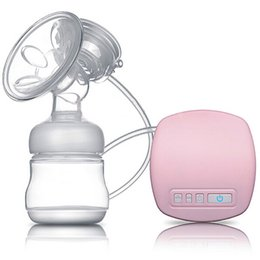 Wholesale Electric Automatic Breast Pump - Electric Handsfree Breast Pump Pumping Breastpump Nipple Suction Milker Automatic Milk Sucking For Infant Baby Care Products