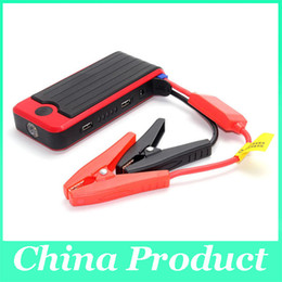 Wholesale High Power Led For Cars - MIni Car Battery Charger 12000mAh High-capacity Vehicle Jump Starter With LED Light Emergency Car Jump Starter Power 010125