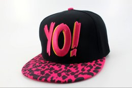 Wholesale Mtv Caps - 2015 The Yo MTV Rap Logo snapbacks Hat Hot Basketball Snapbacks High Quality Snap Back Cap Cheap Snap Backs Hat Hip Hop Cap Sports Caps