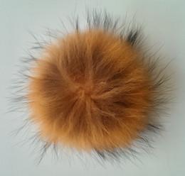 la palla della pelliccia del procione 15cm di modo, la palla di Pom Pom del procione, 50pcs / set, libera il trasporto di DHL / Fedex da