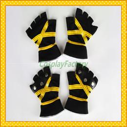 Wholesale Kingdom Hearts Sora - Wholesale-Free Shipping Kingdom Hearts Anime Cosplay Sora II Yellow Gloves