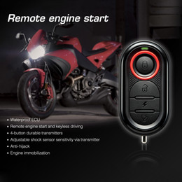Wholesale Engine Start Stop System - 100% Original Steelmate 986E 1 Way Motorcycle Alarm Alarme Moto Alarma Moto Remote Engine Start Stop Moto Protection for BULTACO K2799