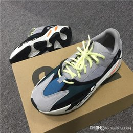 Wholesale Best Casual Shoes For Men - 2017 Originals Kanye West Wave Runner 700 Running Shoes for Men Best Quality Season 5 700s Boost Women Fashion Casual Sports Sneakers