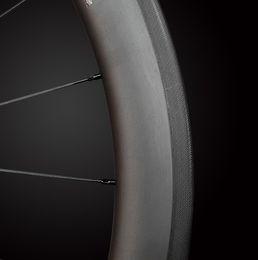 Wholesale U Wheels - Chosen Straight pulled 38mm 50mm Carbon Wheels Road Bike Wheelset UD  3k Matte 700c 25mm Tubular Clincher U shape road carbon wheels