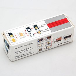 Wholesale Oh Cards - Free Shipping Standard Micro Sim Card To Nano Sim Card Cut Cutter For iPhone 5 5G 5th OH#9055 order<$18 no tracking