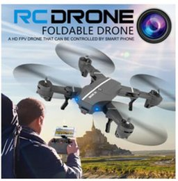Wholesale Connect Connections - Phone WIFI connect Drone 8807W Foldable UAV with 0.3MP HD camera 2.4GHz Remote Control Selfie Drone Wifi FPV Quadcopter VS XS809W XS809HW
