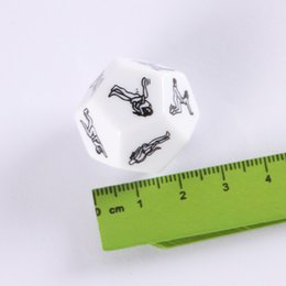 Wholesale Hot Sex Dice - w1028 Hot Sale Sex Funny Adult Love Humour Gambling Sexy Romance Erotic Craps Dice Pipe Toy