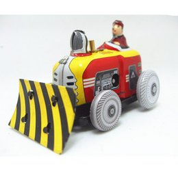 Wholesale Wind Up Christmas Toys - 2015 Newest Excavator Model Wind-Up-Toys for Children Adults Christmas Present, Novelty Vintage Clockwork Toys Free Shipping