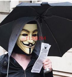Wholesale Vendetta Masks For Sale - 100pcs lot Free Shipping Hot Sale V for Vendetta Party mask masquerade masks Carnival Bar Masks catwalk show V01