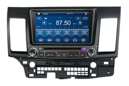 "Wholesale Lancer Radio - HD 2 din 8"" Car audio Car dvd gps navigation for Mitsubishi LANCER With Bluetooth IPOD TV Radio  RDS SWC USB AUX IN"