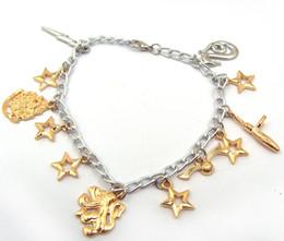 Wholesale Harry Potter Snitch Bracelet - Factory Direct Sales Harry Potter Bracelet Golden Snitch Charms Bracelet Movie Jewelry Statement Jewelry 12 Pcs lot