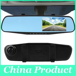 Wholesale Auto Dimming - Car DVR Camera FHD 1080p Car dvrs auto Dimming Rearview mirror recording dash cam night vision Parking monitor 010230