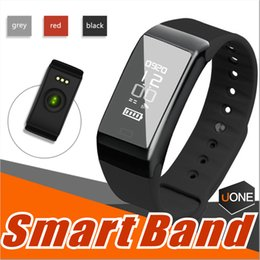 Wholesale Style Rates - Universal Style Smartband F1 Smartband Smart Wristbands Sport Band Bracelet fitness tracker Heart Rate Monitor IP67 Waterproof