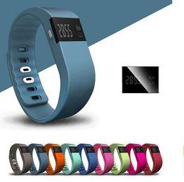 Wholesale flex fit wholesale - Waterproof IP67 Smart Wristbands TW64 bluetooth fitness activity tracker smartband pulsera wristband watch not fitbit flex fit bit Free Ship