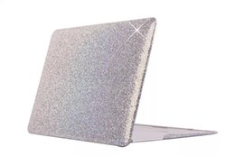 Wholesale Cover For Apple Macbook Pro - Bling Glitter Shiny Crocodile Skin Luxury Leather Coating Case Cover Laptop Cases For Apple MacBook Air13 Pro Retina13 Air11 Air 11 13 1pcs