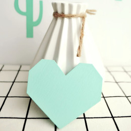 Wholesale Christmas Presents For Kids - Wholesale- Cute Digital Heart wooden hook hangers for kids room wall decorate ECO hanger hook for kids christmas present