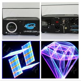 Wholesale Free 3d Animations - LH-RGB230H 1000mW 2D 3D Full Color Animation laser light with lcd display and free ishow software