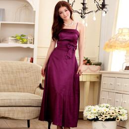 Wholesale Hot Dinner Dresses - JK2 XL 2015 Hot Summer Dinner Party Wedding Dress Slim Silk Suspenders Long Dress