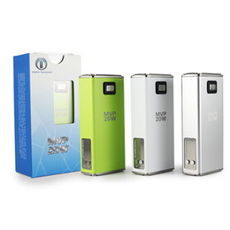 Wholesale Innokin Itaste Batteries - Authentic Innokin iTaste MVP 20W itaste mvp vv kit Box Mod Variable Voltage Wattage Battery Mods With OLED Display itaste mvp 2.0 kit