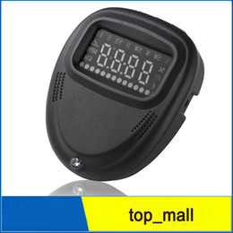 Wholesale Speed Windshield - A1 Car HUD GPS Head Up Display Digital Dashboard Mounted Windshield Projector 12V Cars With Over-speed Alarm 002983