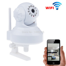 Wholesale Cctv Digital Monitor - H.264 HD 720P Wifi Wireless IP Camera Baby Monitor Ipcam P2P Pan Tilt CCTV Camera For Home Secuirty Camera