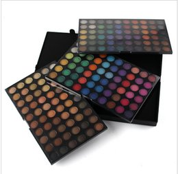 Wholesale Minerals Kit - New 180 Full Colors Eyeshadow Cosmetics Mineral Make Up Professional Makeup Eye Shadow Palette Kit