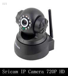 Wholesale Surveillance Camera Pan - DHL Sricam IP Camera 720P 1280X720 HD P2P Mini Pan Tilt PT WiFi Wireless Network CCTV Camera Security Surveillance Camera Baby Monitor