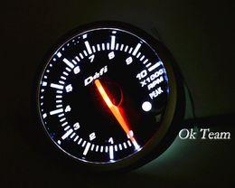 Contagiri Autogautometro auto universale tachimetro PSI Misuratore di vuoto bianco LED rosso Nuovo tachimetro da luci led per contatori fornitori