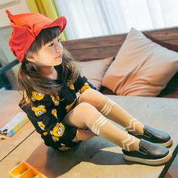 Wholesale Kids Designer Socks - New Designer Cute fish knee high socks baby leg warmers girl legging 2 colors baby cotton kids long socks sport socks D568L