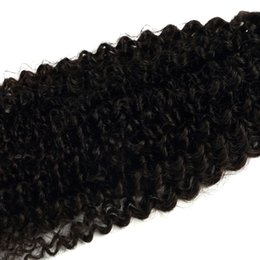 Wholesale Extensions For Long Hair - Brazilian Human Hair Extensions in 8A Grade Hair Extensions Silky Long Curly Wave Hair for Women 3 Pcs Package Set 10-28 Inch