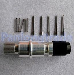 Wholesale Cutter Plotter Blades - NEW 1X Graphtec CB09 Blade Holder + 5X Blades for Vinyl Plotter Cutter 30° 45° 60° Mix
