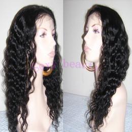 Wholesale Long Wavy Half Wigs - Wet wavy human wig, free shipping brazilian virgin hair front lace wig & full lace wig glueless human hair wigs for black women