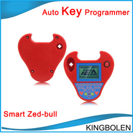 Wholesale Smart Key Transponder - Top Quality Mini Zed-Bull Smart Zed Bull Transponder Key Programmer zedbull auto key programmer Free Shipping