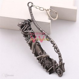 Wholesale Trendy Products - Wholesale-VEE3005 online game product BLOODBORNE PS4 alloy high quality pendent men women jewelry charm Key Chain