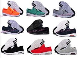 Wholesale Mens Shoes - New Arrival Mens Running Shoes With Tag New fashion SB Stefan Janoski Max Mens and womens Fashion Sneakers shoes EU36-45 Free Shipping