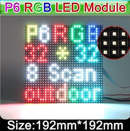 Wholesale Outdoor Led Display Module - Outdoor Full Color SMD P6 LED Display Screen Module P6 Outdoor SMD  RGB 192*192 mm LED display Module  panel  waterproof led module