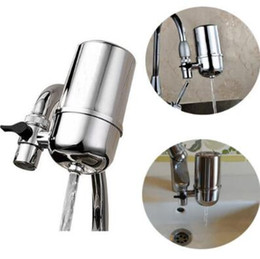Wholesale Purified Filtered Water - Hot Advanced Faucet High Quality Ceramic Cartridge Water Purifier Water Filter Purifying Device for Home Kitchen Water Filters CCA7992 50pcs