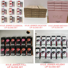 Wholesale Birthday Pencils - KYLIE JENNER LIP KIT with lip liner pencil  fall collection birthday  vacation  holiday for christmas Lipstick Makeup