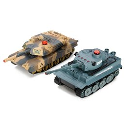 Wholesale Tank Battle Set - Huanqi Electrical Infrared RC Battle Tank 2Pcs Set