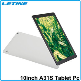 Wholesale Tablet Slim Allwinner - 10.1 inch Allwinner A31S Tablet PC Quad Core Dual Camera HDMI 3D Bluetooth 1G RAM 16G 1.2GHz Kitkat Android 4.4 tablet factory price