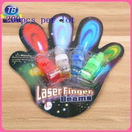 celebration day led with best reviews - Wholesale 2015 LED Finger Light Glowing Dazzle Colour Laser Emitting Finger Ring Beams Ring Torch Wedding Party Christmas Celebration