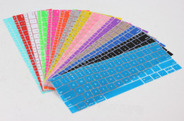 Wholesale Macbook Air Skin Protector - Wholesale-Soft Silicone US Style Keyboard Cover Skin For Apple MacBook Air 11 inches Keyboard Protector