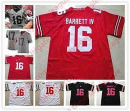 Wholesale Iv S - NCAA Ohio State Buckeyes College #16 JT Barrett IV 7 Dwayne Haskins 18 Tate Martell Dobbins White Black Red Gray Stitched Jerseys S-3XL