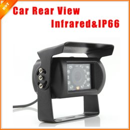 Wholesale Infrared Cameras For Cars - Car Electronics Accessories 120 Degree 18pcs LED 420TVL Infrared Waterproof Car Rear View Camera For Truck