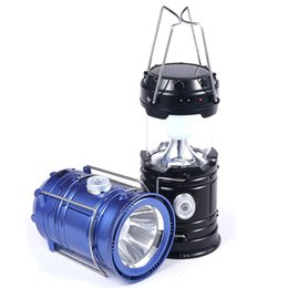 super bright solar camping lanterns Coupons - Umlight1688 New Style Portable Outdoor LED Camping Lantern Solar Collapsible Light Outdoor Camping Hiking Super Bright Light